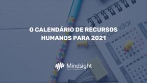 Calendário de RH 2021